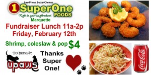 super one lunch sign
